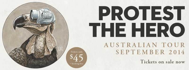 Australia Here We Come! - Protest The Hero