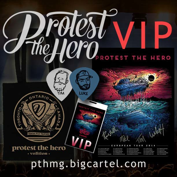 European Meet and Greets - Protest The Hero